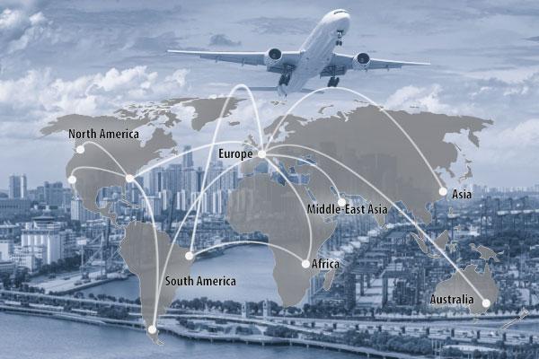 Luftfracht Import Export Onboard